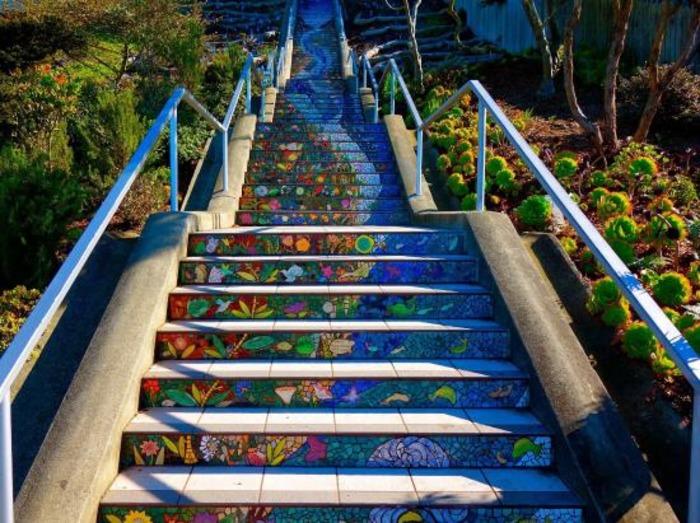 Искусство лестницам не чуждо. /Фото: www.tripadvisor.ru