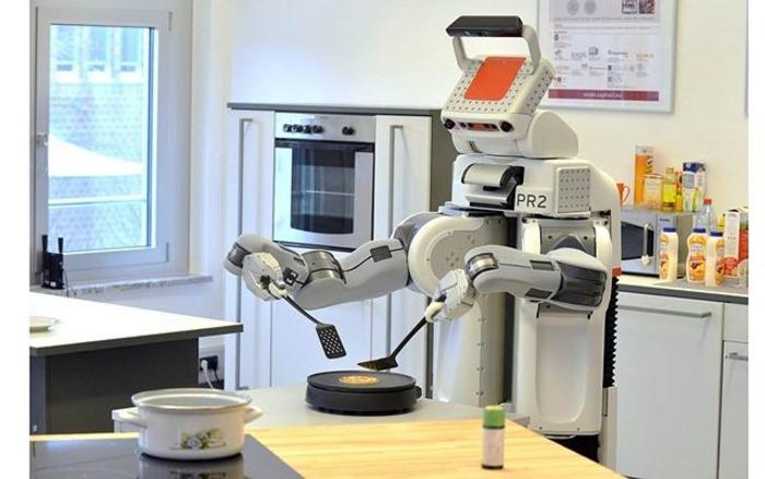 На кухне человеку тоже нечего будет делать.  /Фото: pinterest.com