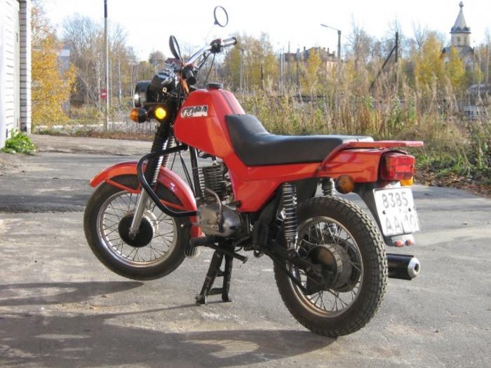 Первый постсоветский мотоцикл. /Фото: autofuct.ru