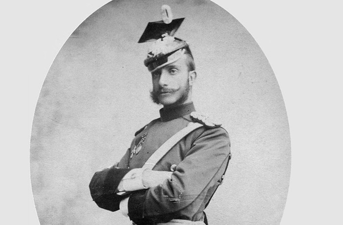 Король Испании Альфонса XII, оскорблённый французами. /Фото: moya-planeta.ru