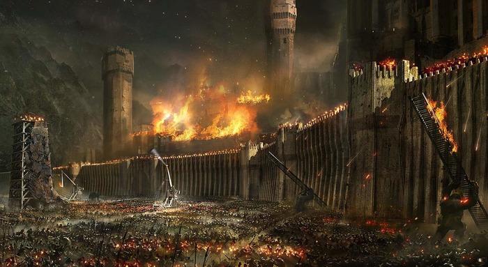 Уж больно быстро в кино осадой крепости берут. /Фото: warhead.su