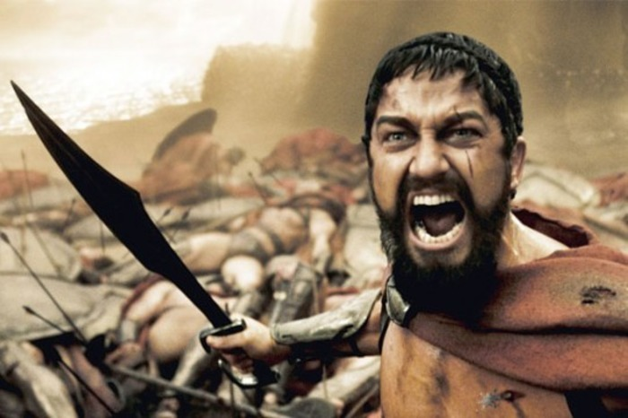 300 спартанцев - едва ли не единственный пример целесообразного использования этого приёма. /Фото: yvision.kz