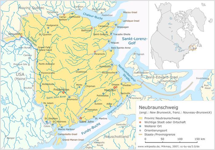 Результатом этого конфликта стала маркировка американо-канадской границы. /Фото: wikipedia.org