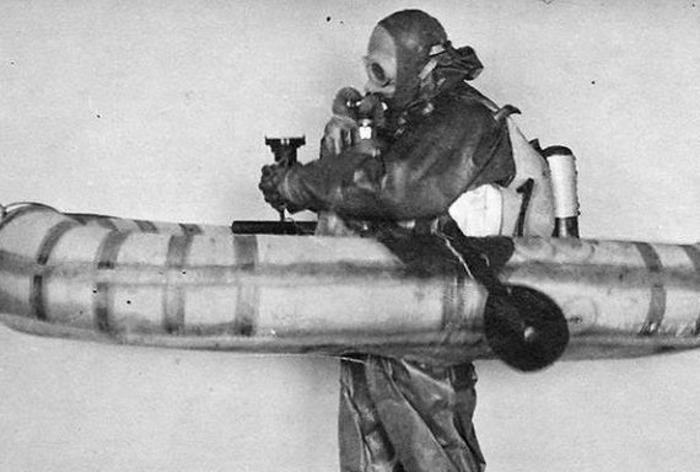 Уникальное оборудования для работы подводники-диверсанты изготавливали сами. /Фото: russian7.ru