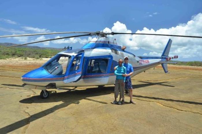Попасть на остров можно разве что вертолетом. /Фото: tripadvisor.com