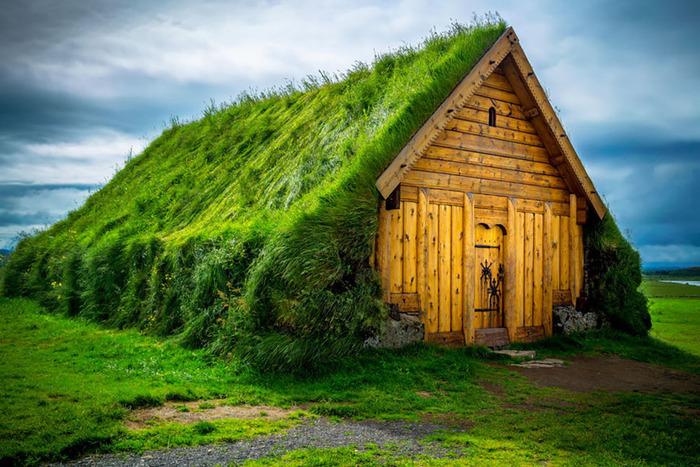 Успешное строительство дома с травяной кровлей возможно только при чётком соблюдении технологии. /Фото: telegraf.com.ua