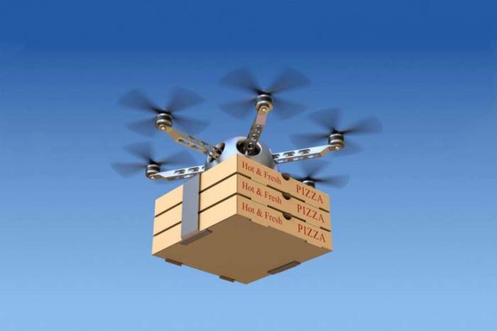 Пицца теперь будет передвигаться по воздуху. /Фото: rubryka.com