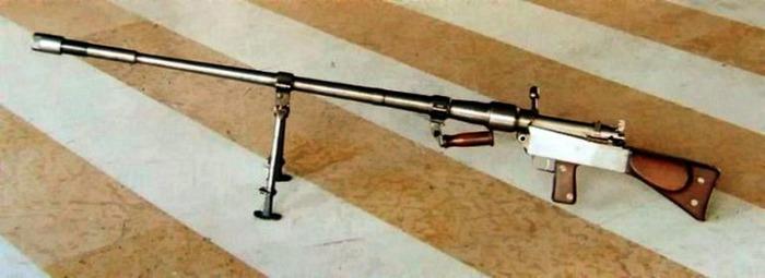 Опытный образец ружья Янечека. /Фото: warhead.su