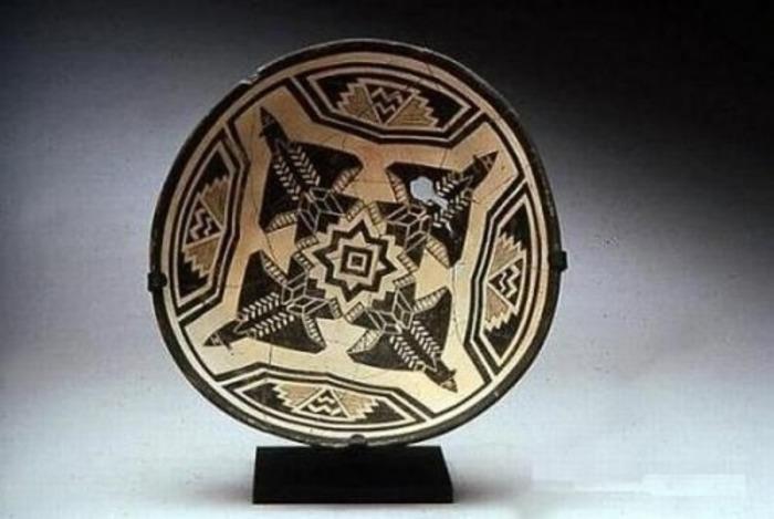 Тарелка цивилизации майя. /Фото: yablor.ru