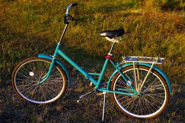 Знаменитый советский велосипед. /Фото: blogspot.com