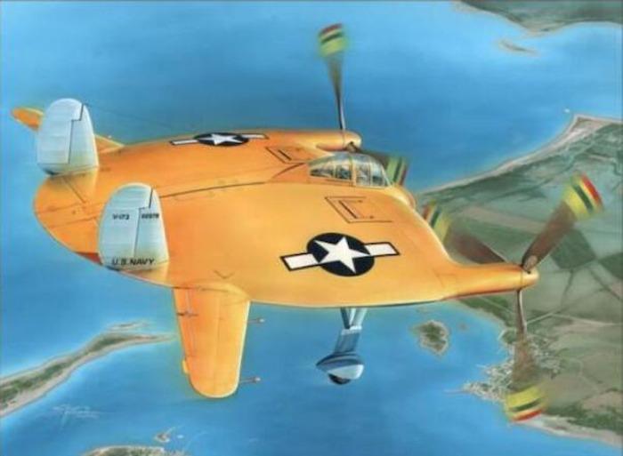 Нечто, похожее на камбалу, но еще и летает. /Фото: aviationmegastore.com