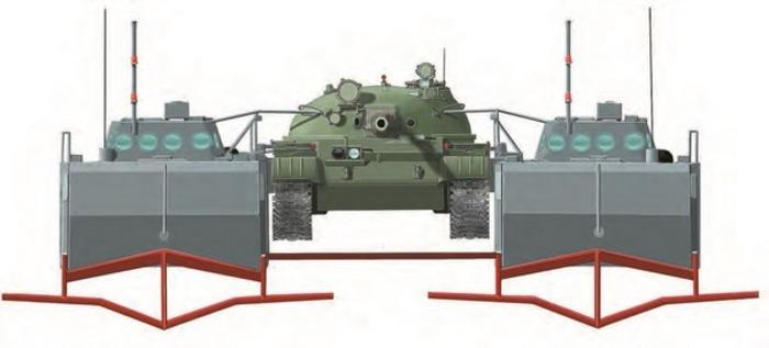 Компьютерная модель СТП проекта 80. /Фото: military.wikireading.ru