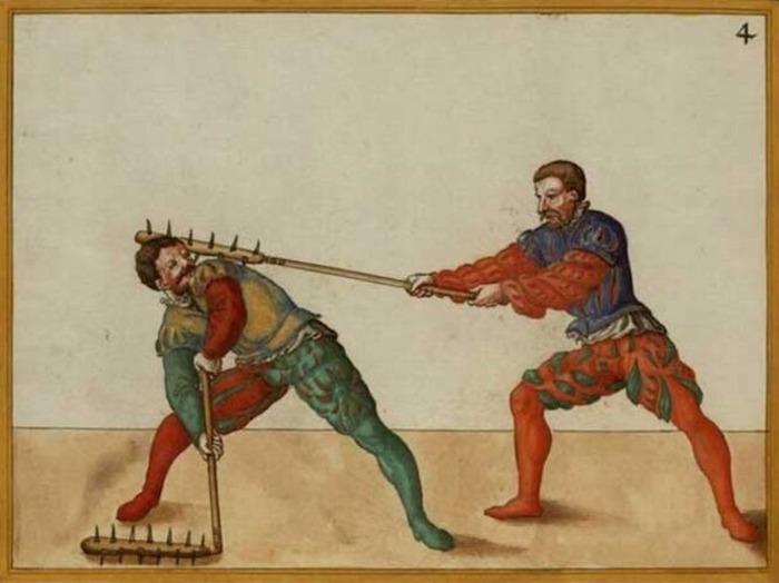 Оригинальное оружие рыцарской эпохи. /Фото: popmeсh.ru