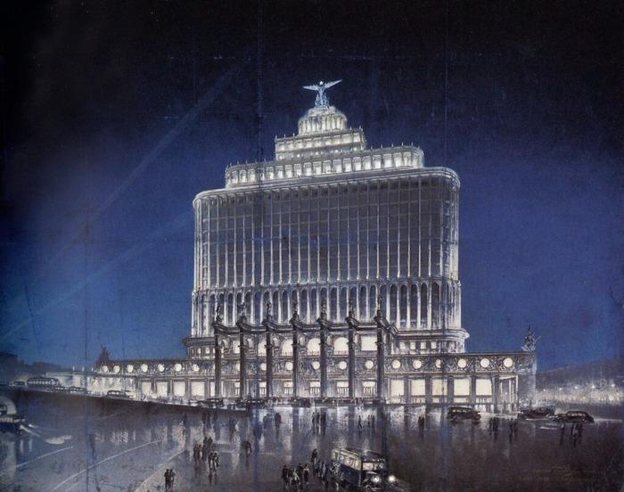 Масштабный нереализованный проект довоенного периода. /Фото: flickr.com