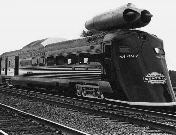 Поезд, модернизированный ресурсами...бомбардировщика. /Фото: greatplainsparanormal.com
