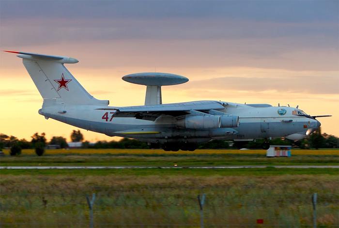 А-50 - самый известный отечественный самолёт ДРЛО. /Фото: militaryrussia.ru