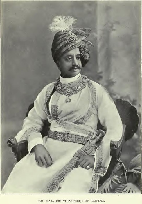 Индийский раджпут с тальваром в руке. /Фото: indianrajputs.com