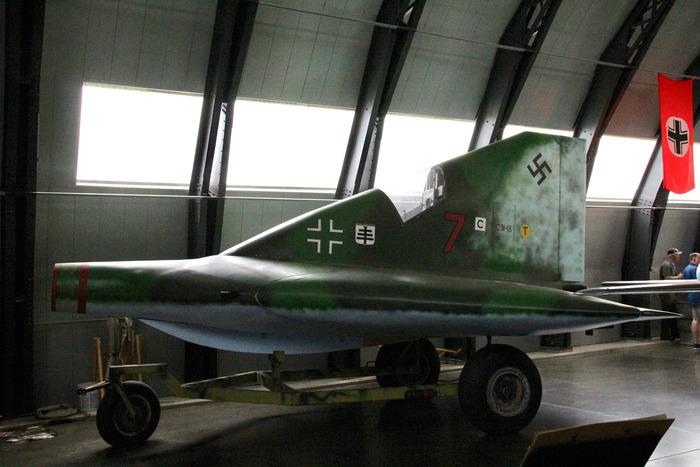 Сохранившаяся реплика самолёта в музейной экспозиции. /Фото: aviationmuseum.eu