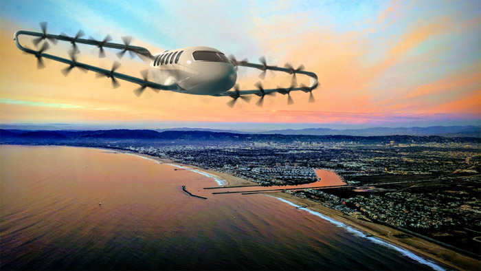 Один из самых запоминающихся концептов аэротакси. /Фото: spot.im