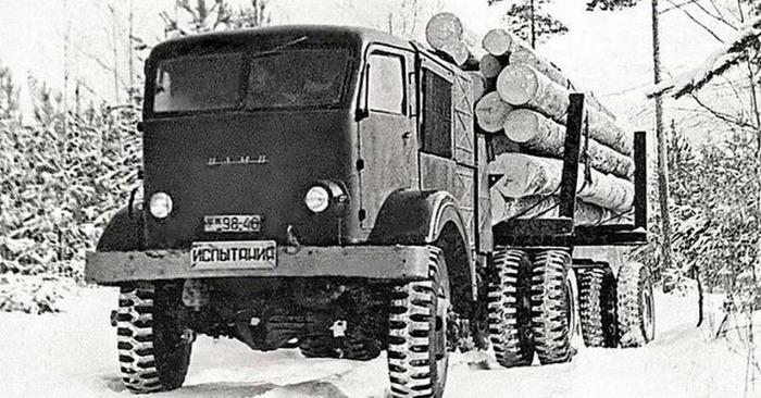 НАМИ-012 во время испытаний. /Фото: popmeсh.ru