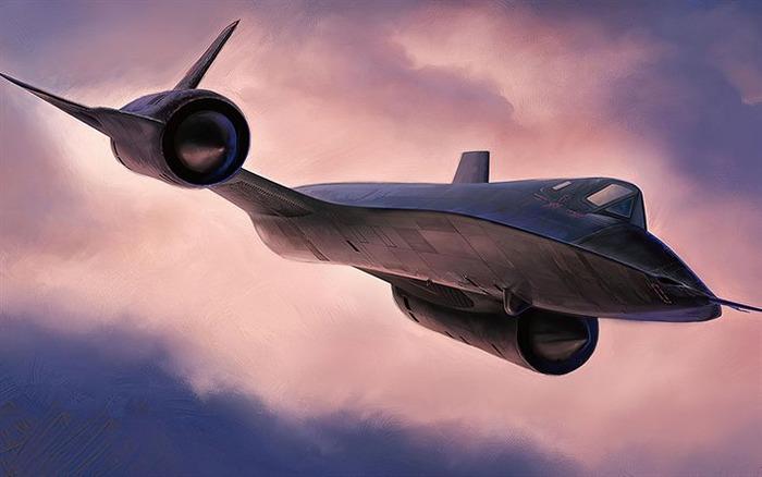 Один из самых известных самолётов Холодной войны. /Фото: besthqwallpapers.com