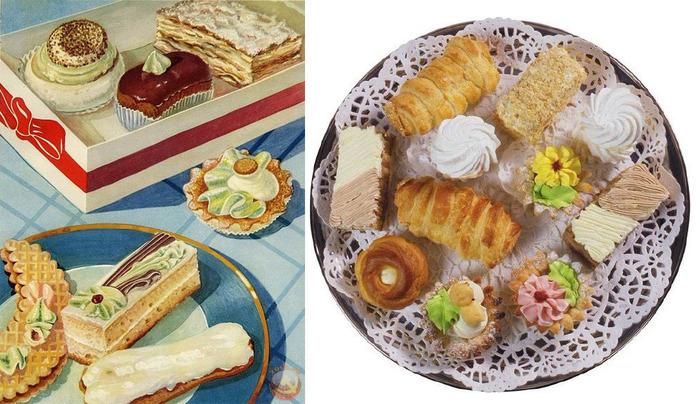 Оказывается, и пирожные могут стать поводом для войны. /Фото: bigpicture.ru