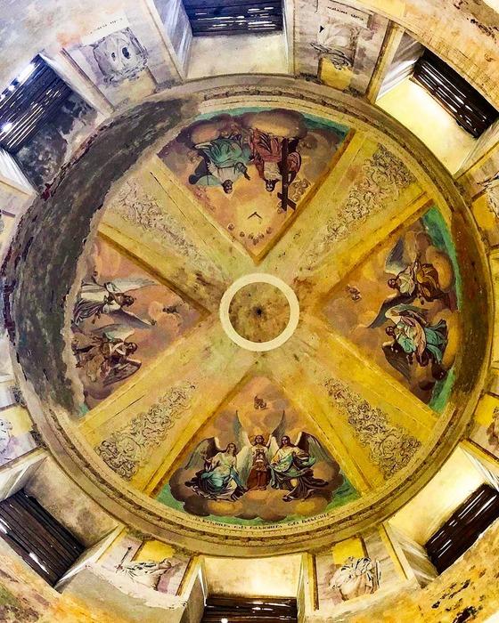 Купол - единственная сохранившая достопримечательность храма. /Фото: rbth.com