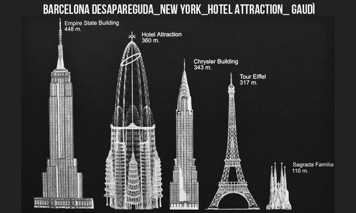 На момент создания проекта отель мог стать одним из самых высоких зданий на планете. /Фото: architime.ru