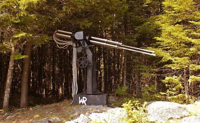 Общий вид на призыватель дождя. /Фото: fishki.net