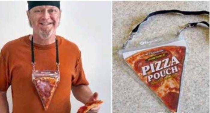 Кусочек пиццы теперь можно съесть  всегда и везде. /Фото: infoniac.ru