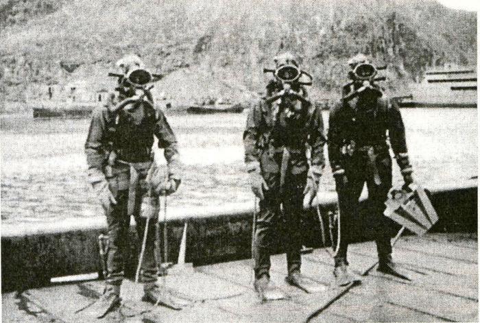Боевых пловцов тренировали в СССР ещё до войны. /Фото: moremhod.info