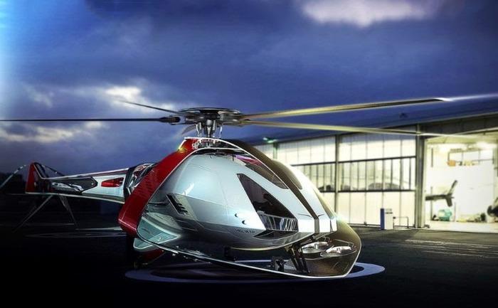 Электровертолеты на фоне городского пейзажа перестанут быть чем-то удивительным.  /Фото: beautifullife.info