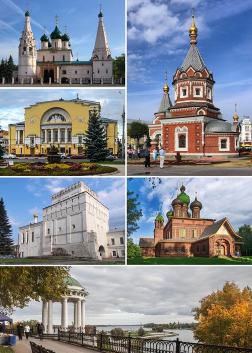 В Ярославле точно есть на что посмотреть. /Фото: wikipedia.org