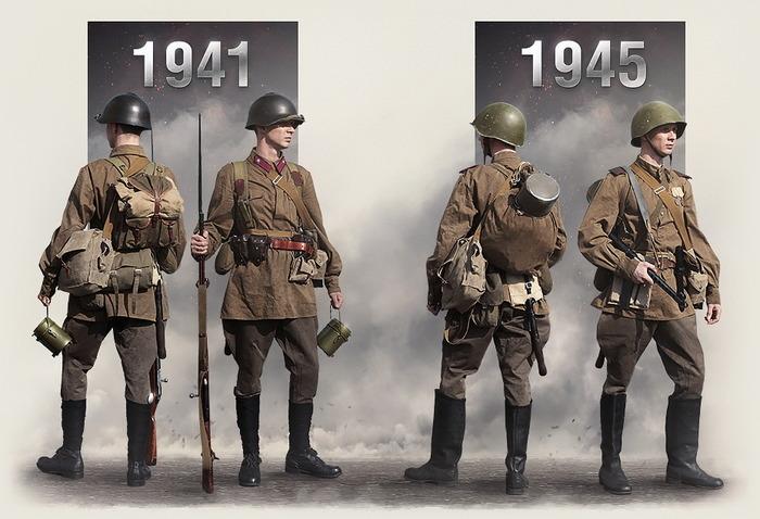 В разные годы солдаты старались облегчить обмундирование. /Фото: казачьяшкола.рф