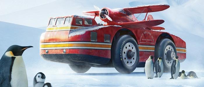 Американский морозостойкий вездеход, который был утерян. /Фото: bigcommerce.com