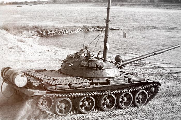 Перспективный танк периода Холодной войны. /Фото: warspot.ru
