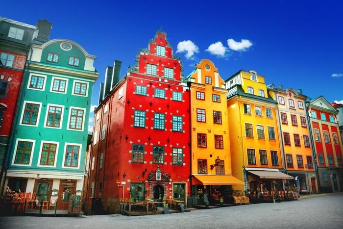 В Стокгольме - своё буйство красок. /Фото: itinari.com