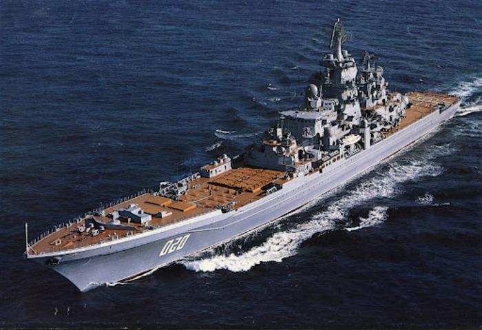 Крейсеров подобного типа должно было быть вдвое больше. /Фото: narod.ru