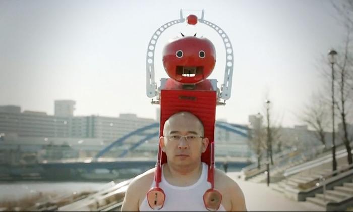 Робот для подачи помидоров. /Фото: otamatone.com