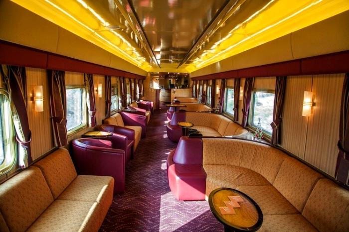Интерьер поезда настолько же респектабельный, насколько и удобный. /Фото: thenewdaily.com.au