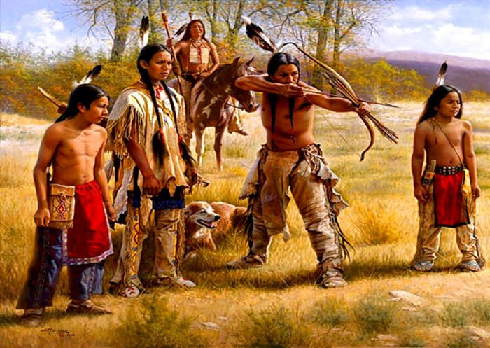 Часто индейцы обходились без создания венца. /Фото: zzeal.co