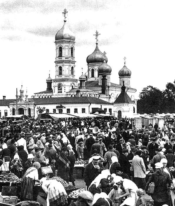 Крылатая фраза, которая родилась на базаре. /Фото: ruskompas.ru