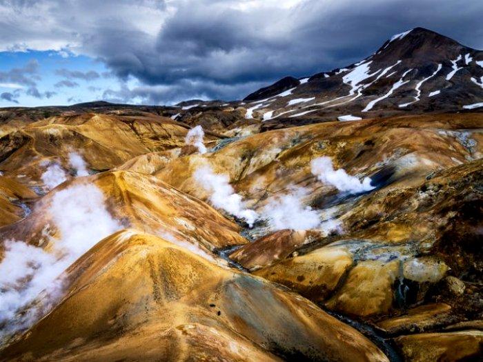 Исландский внеземной пейзаж. /Фото: atraccion360.com