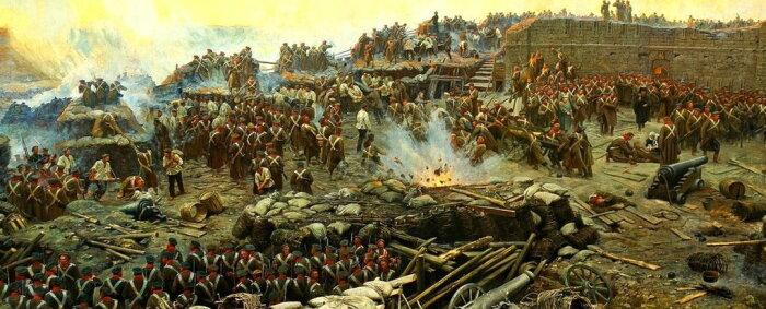 Крымская война завершилась для всех, кроме Берика. /Фото: nashahistory.ru