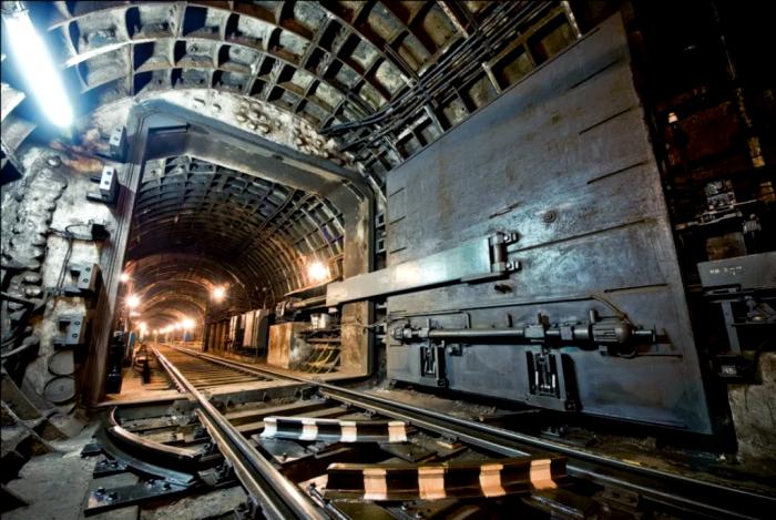 Секретная ветка метро прямо посреди Москвы. /Фото: reddit.com