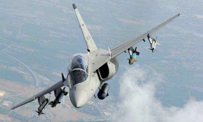Итальянский самолет М-346. /Фото: flightglobal.com