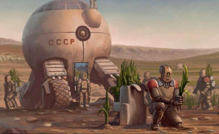 Колонизация Марса - советская космическая программа. /Фото: pronedra.ru