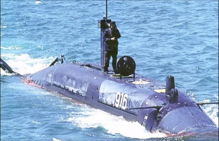 Секретная подлодка ВМФ России. /Фото: youtube.com