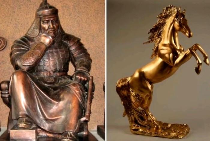 Огромные золотые статуи безрезультатно ищут уже которое столетие. /Фото: travelask.ru