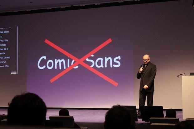 Расширение применения шрифта вызвало неоднозначную реакцию его создателя. /Фото: mentalfloss.com